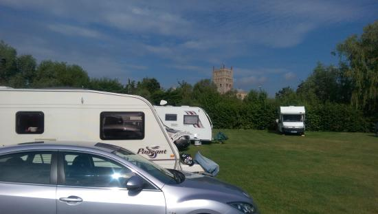 Fantastic  Static Caravan Holiday Hire At Severnside Tewkesbury Gloucestershire