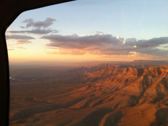 Grand Canyon Sunset Tour With Limo  Picture Of Grand Canyon Helicopters  La