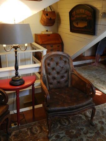 Martin House Inn: Vue intérieure