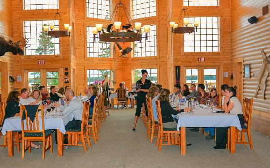Gourmet dining room