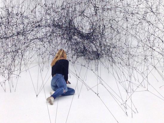SKMU Sorlandets Kunstmuseum: På vei inn i edderkoppnettet