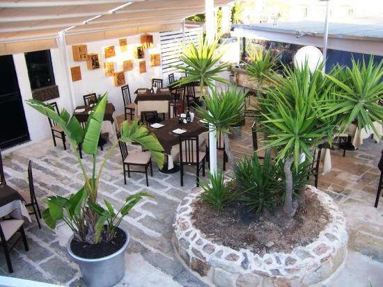 Xemxija, Malta: Portofino Bar and Restaurant View