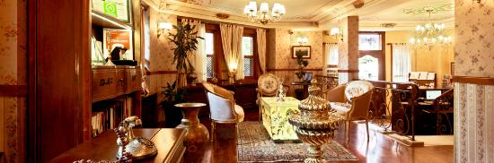 Dersaadet Hotel Istanbul: Lobby Lounge