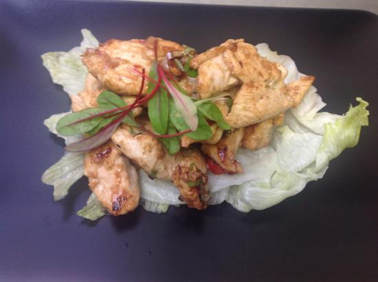 Grilled lemongrass chicken - Picture of Red Peppercorn, Lancaster ...