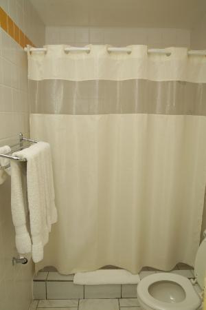 Carl's Unique Inn: Shower