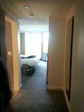 The Epiphany, a Joie de Vivre Hotel: View of the room upon entering