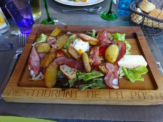 Restaurant de la Poste: une salade de qualité