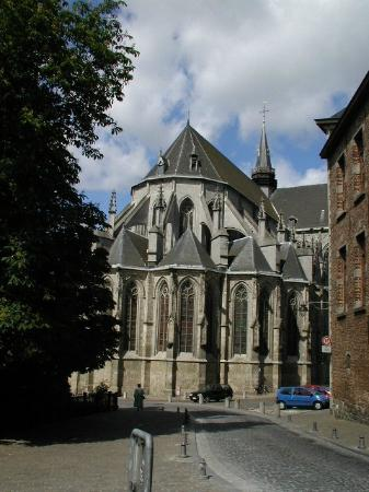 Collégiale Sainte-Waudru - Mons, le chevet