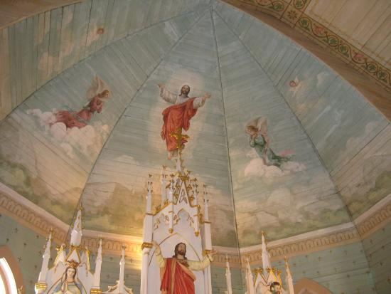 ‪‪Painted Churches Tour‬: Ascension of Our Lord Catholic Church, Moravia, TX‬