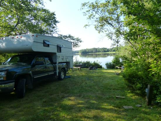 Steuben, ME: Camp site on the water