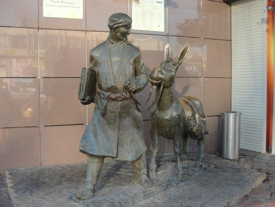 Statue of Khodzha Nasreddin