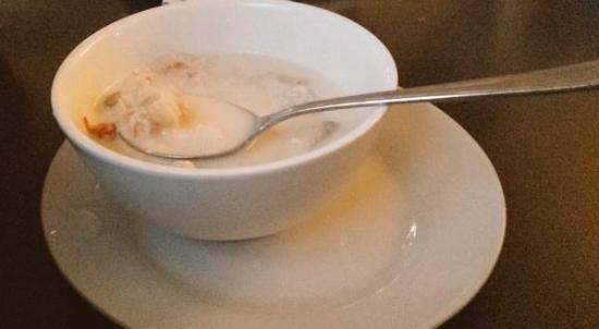 Pictou, Canadá: The aromatic Clam Chowder is to die for