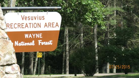 ‪Lake Vesuvius Recreation Area‬