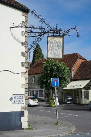 Hindon, UK: Pub Sign