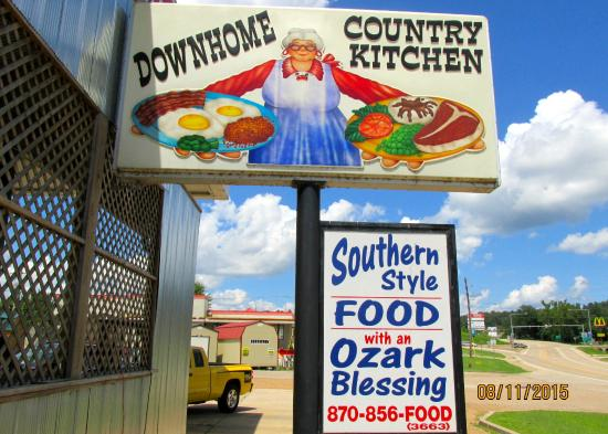 Downhome Country Kitchen: Sign