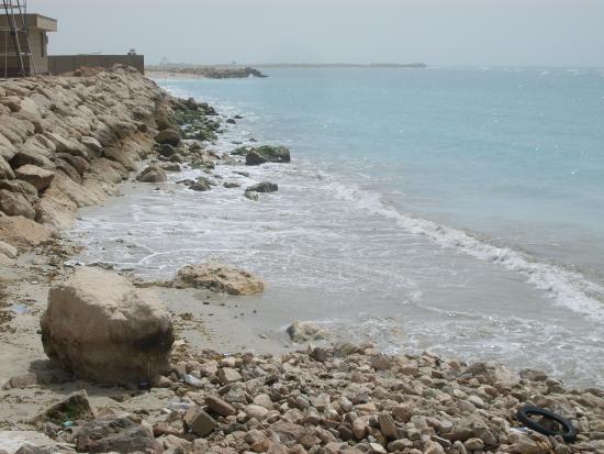 Assaluyeh, Iran: Asaluyeh beach