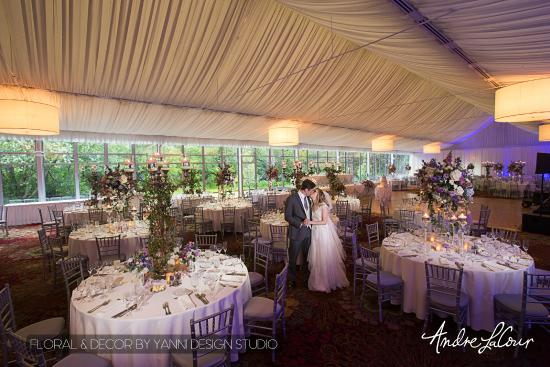 Chicago Marriott Lincolnshire Resort Hotel And Wedding Venue Reception Decor