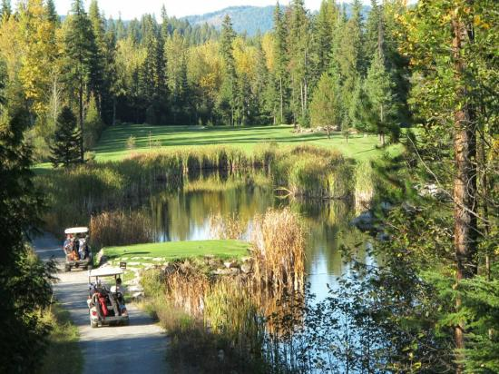 Hill's Resort: A favorite hole to play