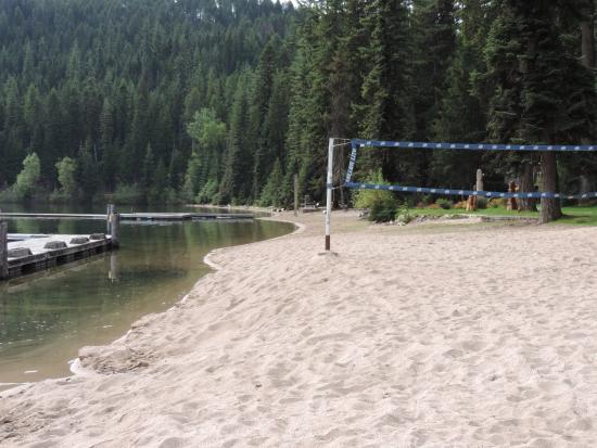 Priest Lake, Idaho: Beach Volleyball