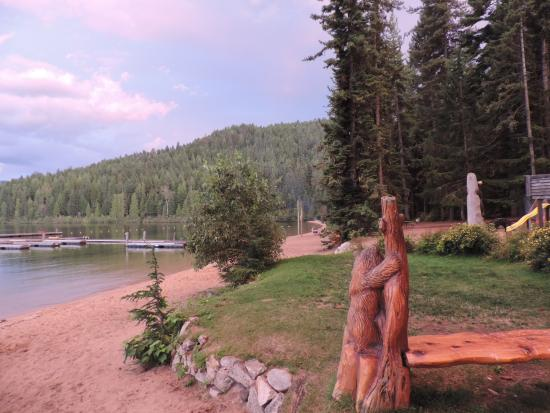 Priest Lake, ID: Long sandy beaches