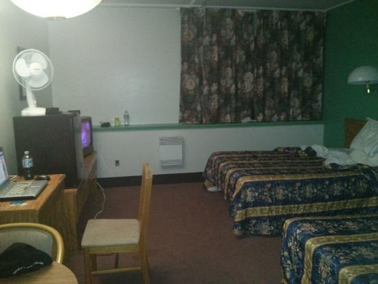 Churchill Falls, Καναδάς: My room on the bottom floor