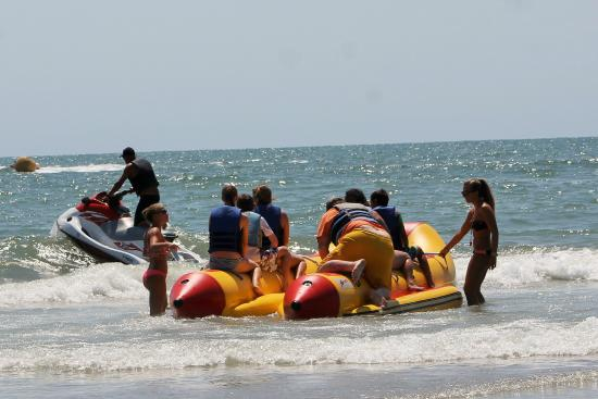 Watersports Banana Boat Ride Out