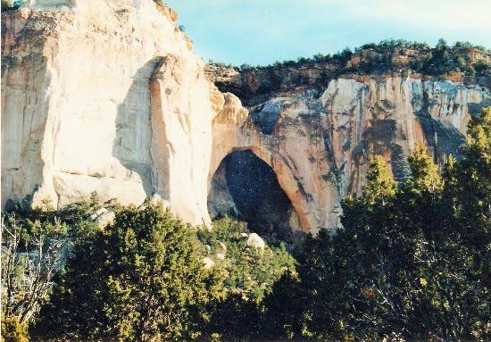 La Ventana Natural Arch : Ansicht von weitem