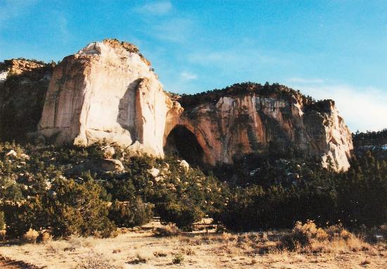 La Ventana Natural Arch: Ansicht von weitem