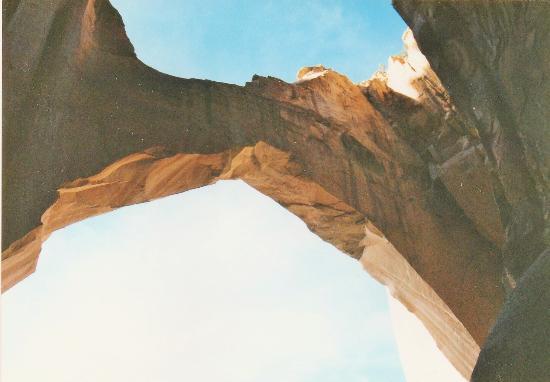 La Ventana Natural Arch : Ansicht von unten