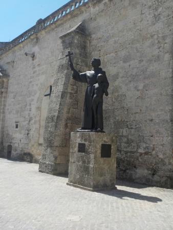 statue de st fran 231 ois d assise picture of san francisco de asis square tripadvisor