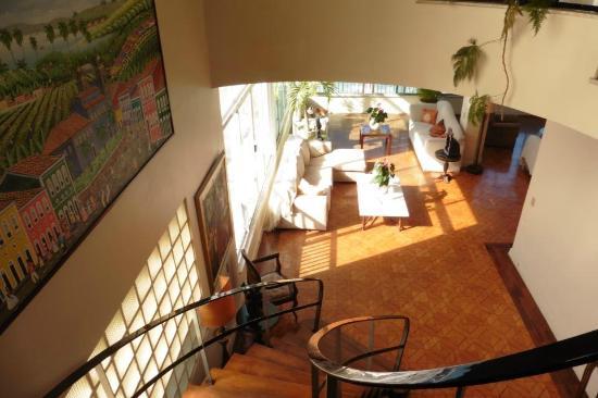 Rio Guest House ( Marta's Guest House): vue du 1ère étage depuis le 2ème