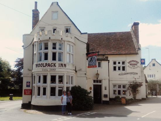Chilham, UK: The Woolpack Inn