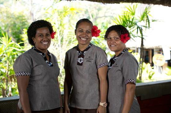 Jean-Michel Cousteau Resort Fiji: Friendly lovely staff