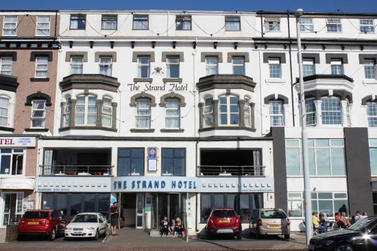 The Strand Hotel: view from the front