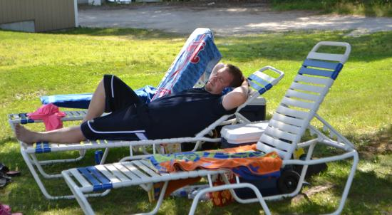 Whales Tale Waterpark : Time for a NAP!