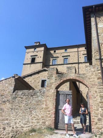 Castello di Potentino: Views of the Castle