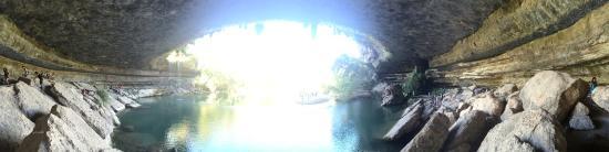 Hamilton Pool Preserve: Panorama