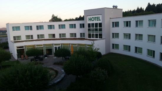 Best Western Hotel Grauholz : Blick aus dem Fenster