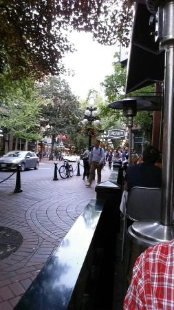 The Greedy Pig - Gastown : Calamari, People Watching, and Crispy Brussels