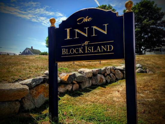 The Inn At Block Island : Inn at Block Island sign out front
