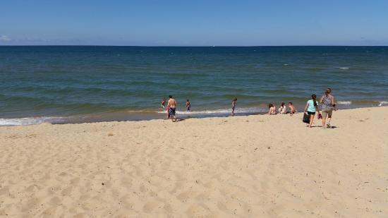 beach at Van Buren State Park in Michigan