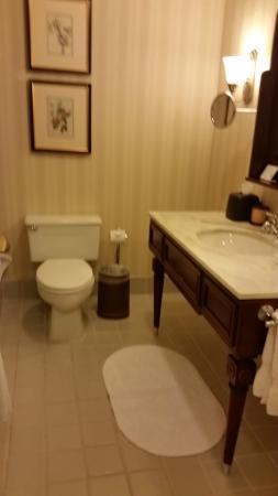 Poste Montane At Beaver Creek: Blurry bathroom