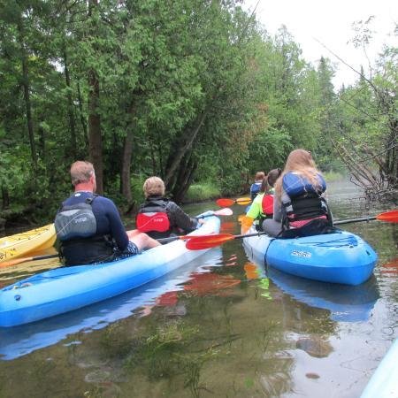 Egg Harbor, Ουισκόνσιν: Heading off on the Wetlands Tour