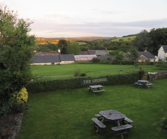 The George Inn: View from the room