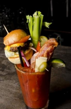 Sammy J's Grill & Bar: Ultimate Cheeseburger Caesar