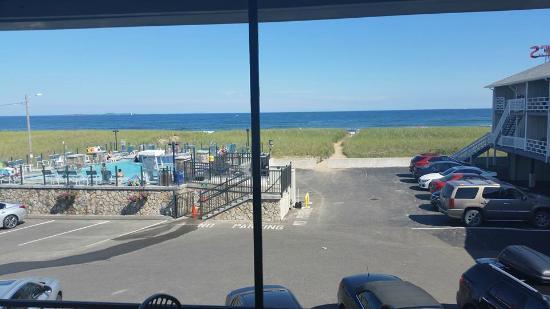 Waves Oceanfront Resort View From Building C 2nd Floor