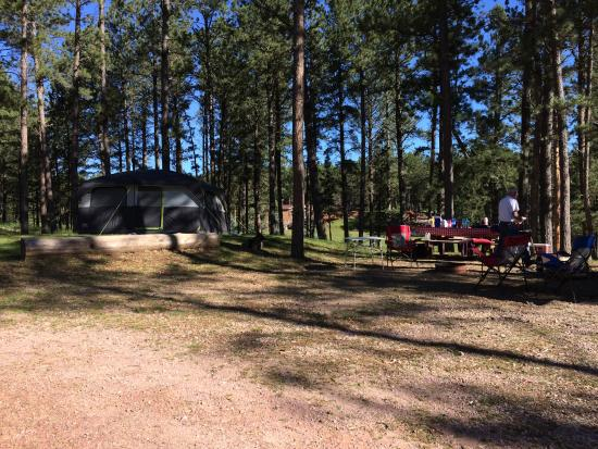 Big Pine Campground Photo