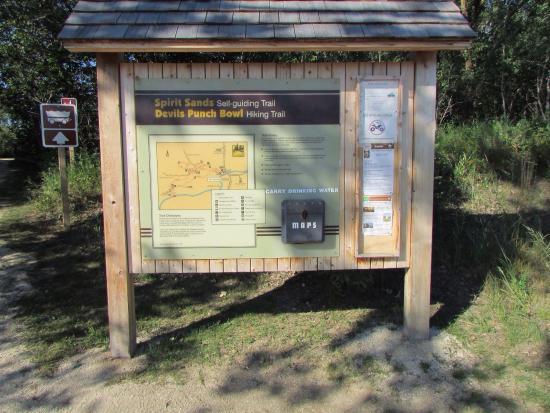 Carberry, Canadá: Trailhead