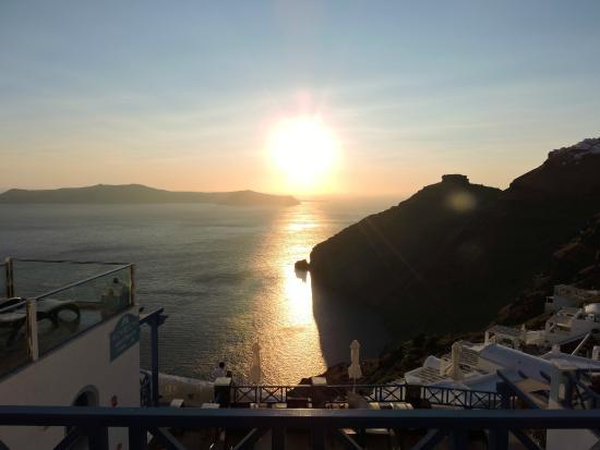 أجناديما أبارتمنتس: Perfect location to watch the sun set.