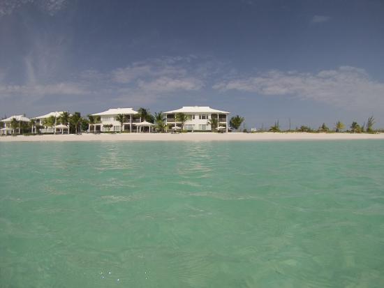 Cape Santa Maria Beach Resort & Villas: View of villa from water